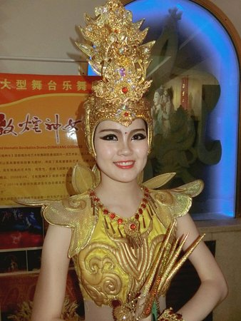 Dunhuang Theater: Dunhuang Theatre actress