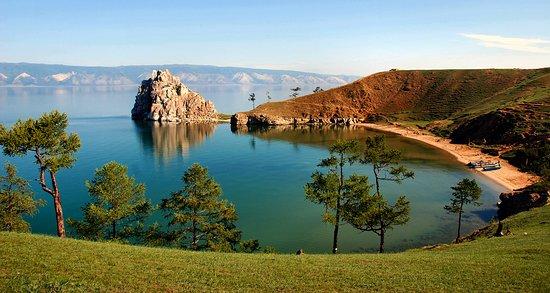 Irkuck, Rosja: Olkhon, Shamanka Rock