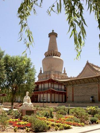 Zhangye Giant Buddha Temple garden