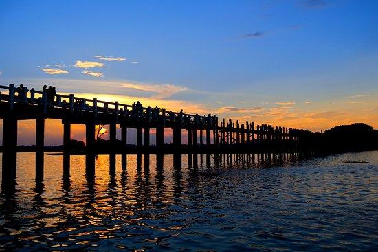 Amarapura, Μιανμάρ: Puente U Bein