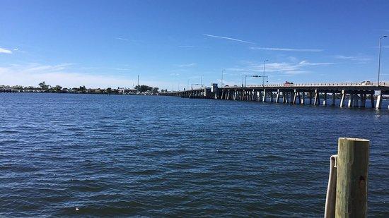 Cortez, FL: view over the Sarasota bay