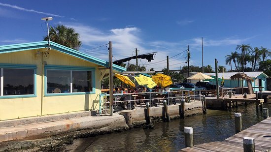 Cortez, FL: looking back from the dock