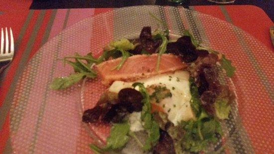L'encoche : The salmon is fabulous