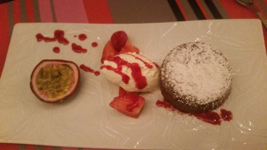 L'encoche : Chocolate fondant - One of the best desserts I have eaten
