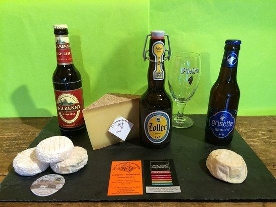 Cluses, Frankrijk: Accord bières et fromages