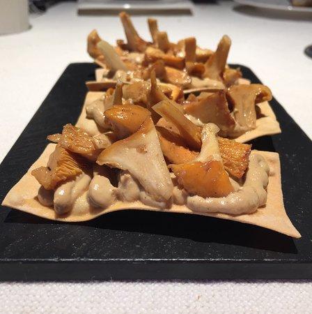 Axpe Achondo, España: Tosta de hongos