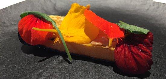 Axpe Achondo, España: Calabaza y petalos