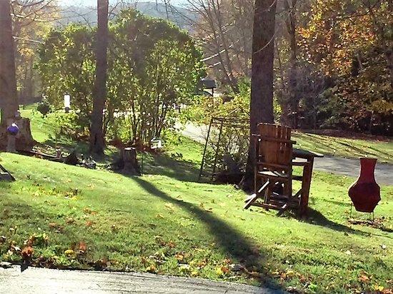 Hillsdale, Νέα Υόρκη: Garden area