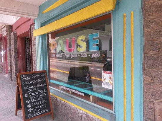 La Pause Café : Außenansicht