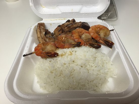 Pendleton, OR: Chicken and Shrimp