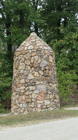 Quapaw, OK: another monument next to the palque