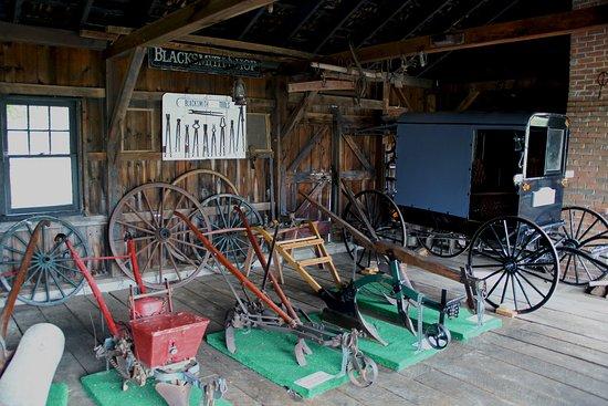 Strasburg, Pennsylvanie : Blacksmith shop