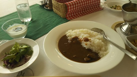 Setouchi, Japón: ランチのビーフカレー