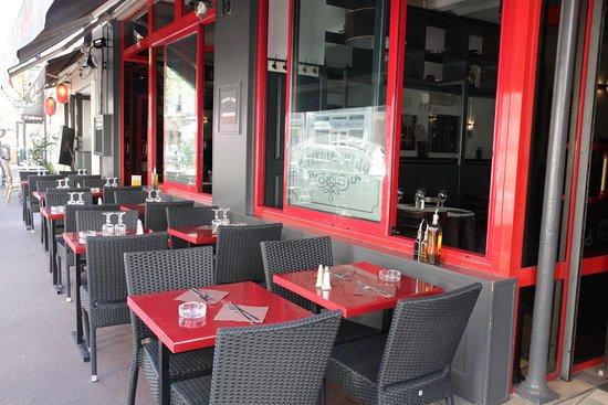 Pizza Vino : Terrasse