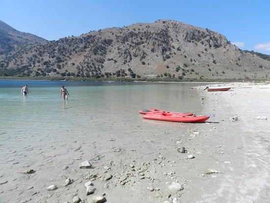 Kournas, Grecia: tappa obbligatoria lago di Kourna