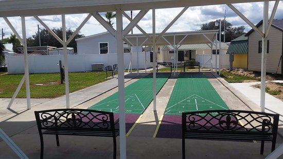 Sebring, FL: Shuffle Board Court