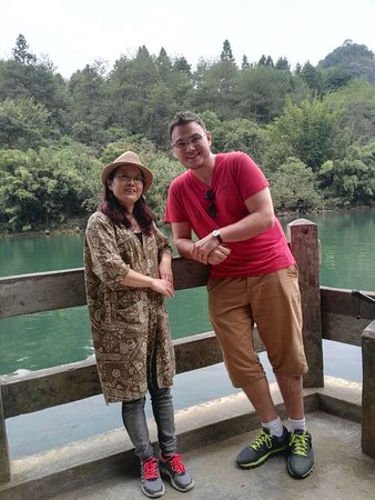 Wuyi Shan, China: With my guide Jenny