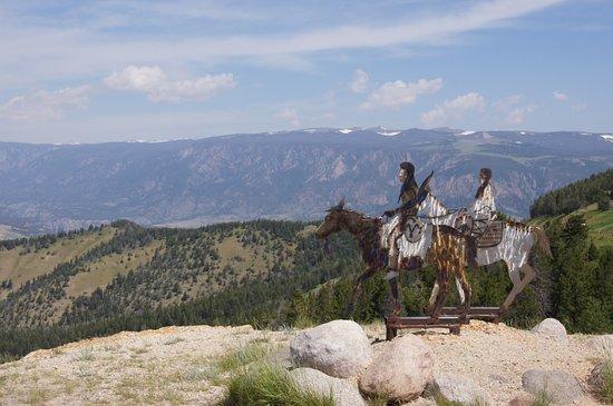 Chief Joseph Scenic Highway Wyoming United States Top