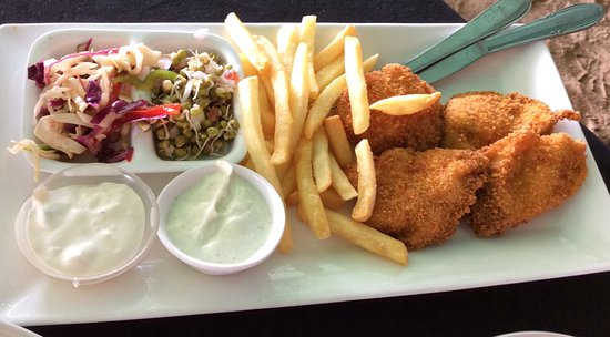 Britto's: Fish and chips