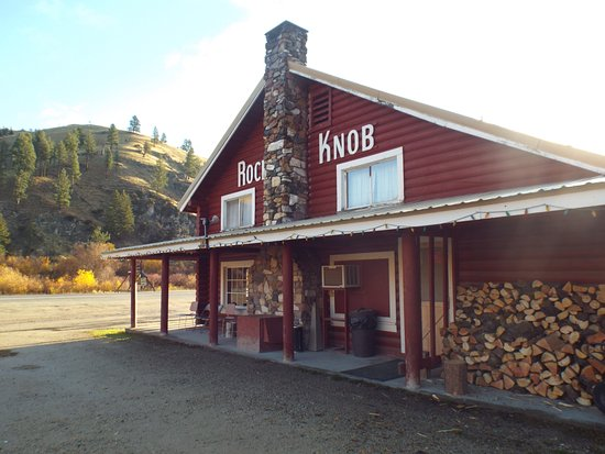 Conner, MT: Front of lodge