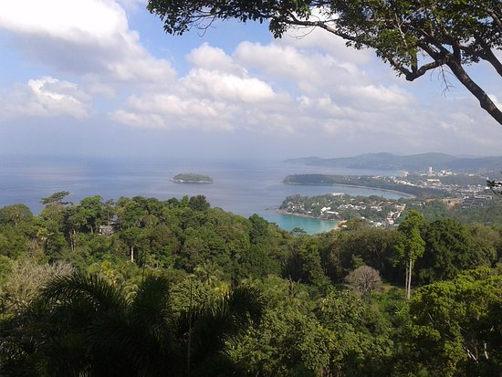 Chalong, Ταϊλάνδη: Вид с горы Храма