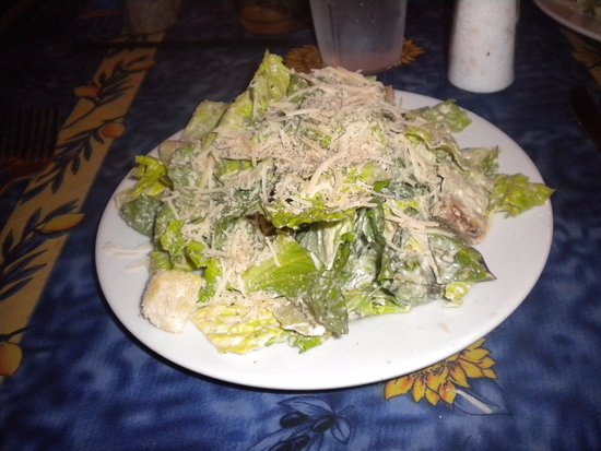 Oxford, Миссисипи: Side Caesar salad