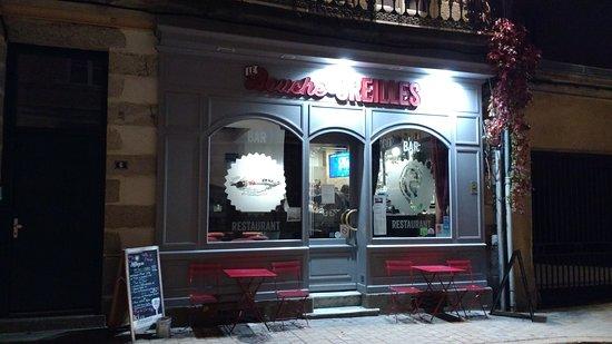 Alencon, Frankrig: Little backstreet bistro