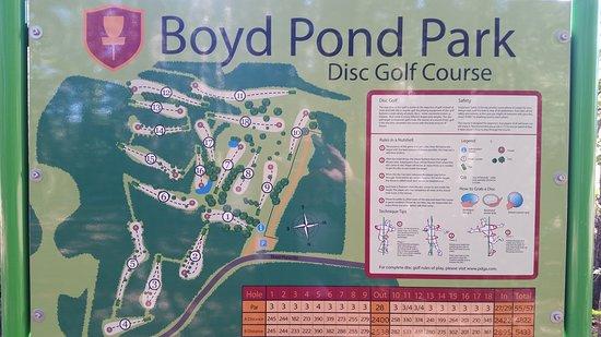 Aiken, Южная Каролина: Boyd Pond Park