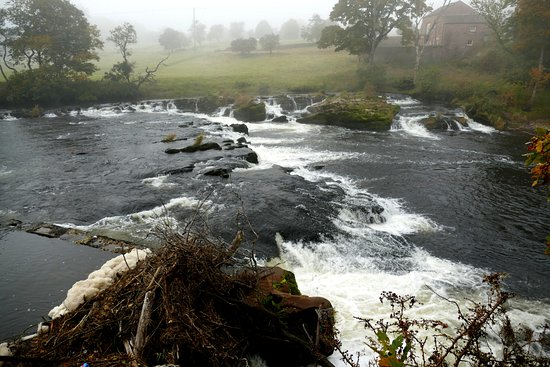 Penrith, UK: River Eden near Lacy's Caves