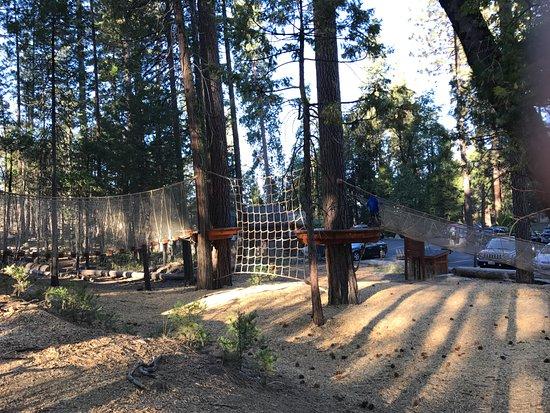 Groveland, Californie : Play area