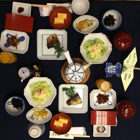 Sukeroku No Yado Sadachiyo: breakfast for 2