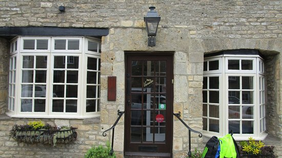 Stow-on-the-Wold, UK: The front door of Number 9 B & B
