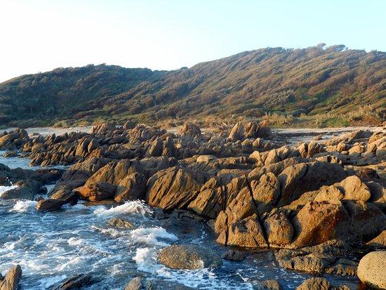 Cape Conran, ออสเตรเลีย: Salmon Rocks
