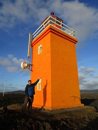 Grindavik, Iceland: The Orange Lighthouse