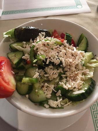 Port Hope, Canadá: Greek Salad