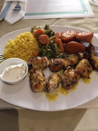 Port Hope, Canadá: Chicken Souvlaki