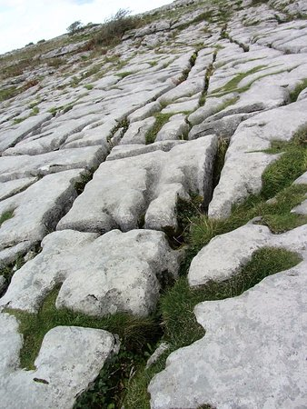 Corofin, İrlanda: Unique blue limestone of the Burren