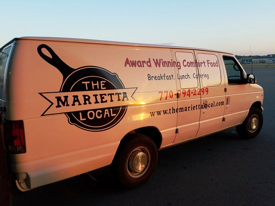 "The Marietta Local caters our ""Award Winning Food"" all around Metro Atlanta."