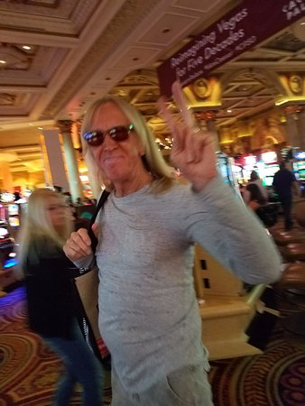 Davey johnstone picture of the colosseum at caesars for A t the salon johnstone