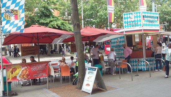 Stall Keukens Duitsland : The german hot dog stall londen restaurantbeoordelingen