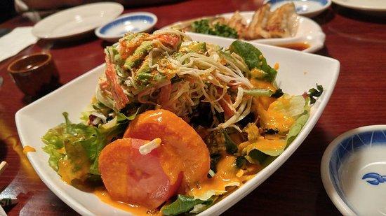 Somerville, MA: Avocado salad