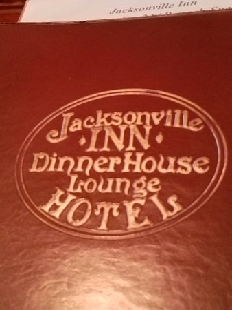 Jacksonville Inn Dining House: Menu