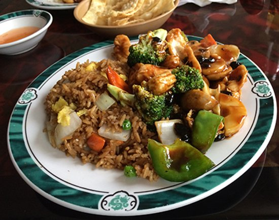 Walden, État de New York : Hunan Chicken with Fried Rice Lunch