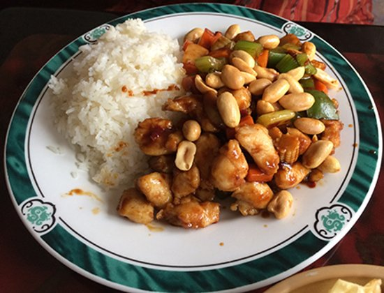 Walden, NY: Kung Po Chicken with White Rice Lunch