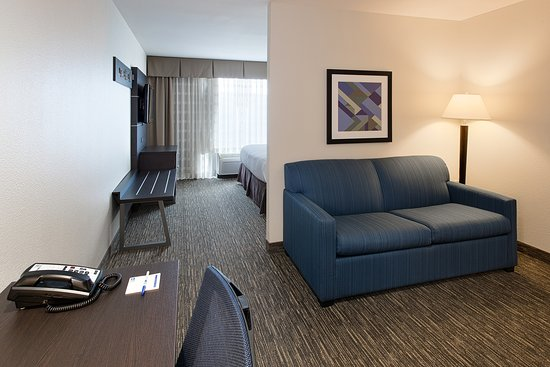 Holiday Inn Express Hotel & Suites Andover/East Wichita: King Suite