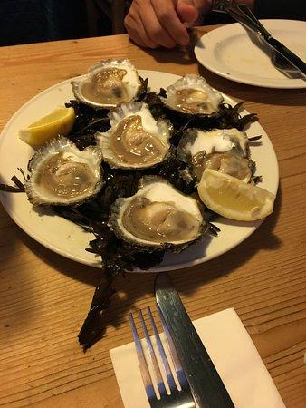 Kilcolgan, أيرلندا: Galway Flat Oysters
