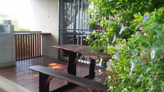 Sabie, Republika Południowej Afryki: Tipperary cottage: Patio
