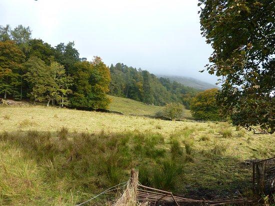 Balquhidder, UK: the infamous slope where the McLaren slaughtered the Buchanan