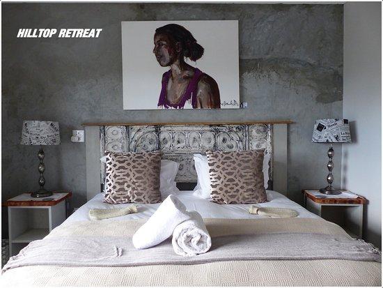 Swellendam, جنوب أفريقيا: eins von zwei Schlafzimmern