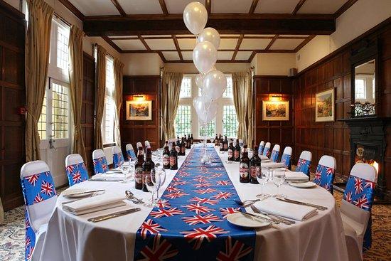 Wokingham, UK: Private dining in the Oak Room